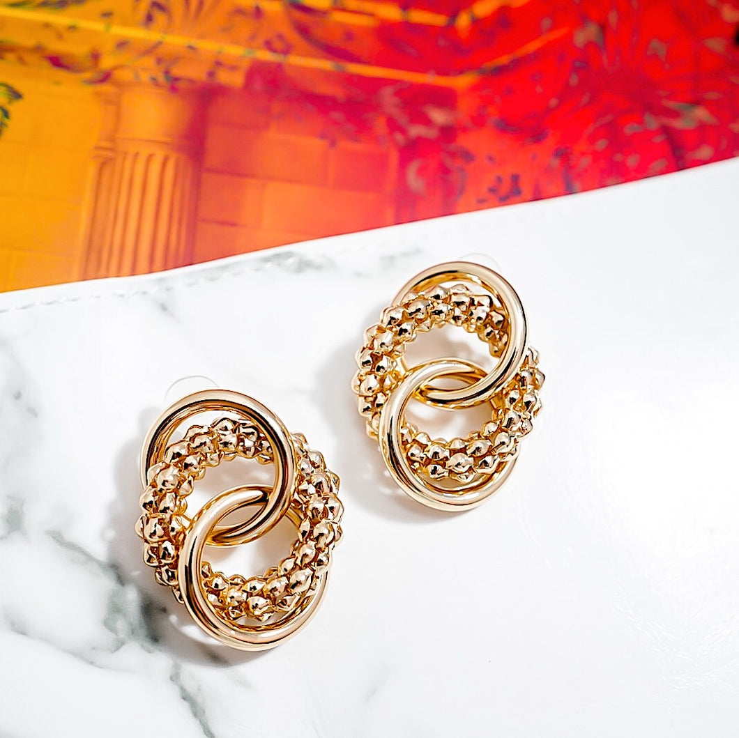 THE GOLD GIANNI EARRINGS