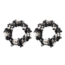 Load image into Gallery viewer, THE WALDORF TWEED HOOPS