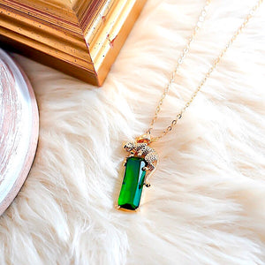 THE VAR EMERALD NECKLACE