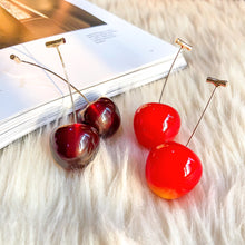 Load image into Gallery viewer, THE CHERRY BOMB EARRINGS