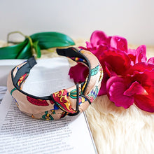 Load image into Gallery viewer, THE CAROLINE SILK HEADBANDS
