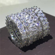 Load image into Gallery viewer, THE CONSTANCE ETERNITY DIAMOND RING