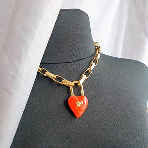 THE RUSTIC HEART NECKLACE