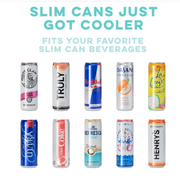 Skinny Can Cooler Party Animal