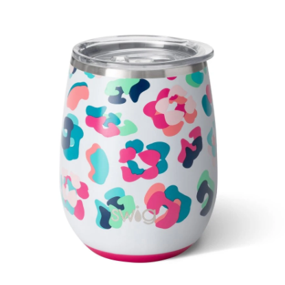 Party Animal 14oz Stemless Wine Cup