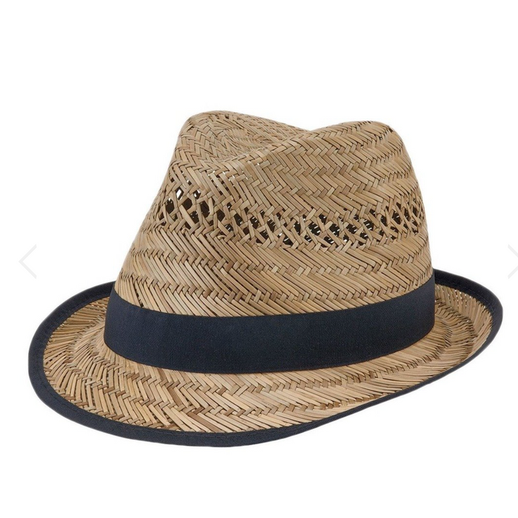 Womens Seagrass Fedora