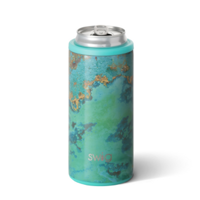 Skinny Can Cooler Copper Patina