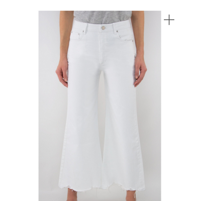 High Rise Wide Leg Culotte