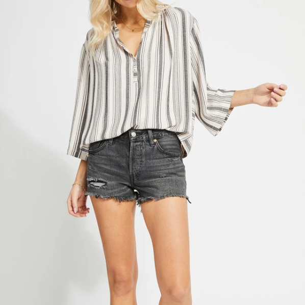 Lindon Striped Blouse