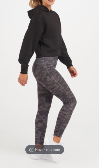 Look at Me Now Legging FL3515 (Heather Grey Camo)