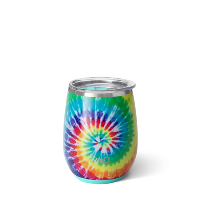 Swirled Peace 14oz Stemless Wine Cup