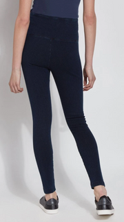 Denim Legging 6175 (Indigo)