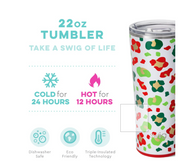 Jingle Jungle 22oz Tumbler