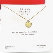 Do All Things With Love Necklace
