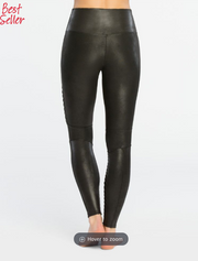 Faux Leather Moto Legging 20136R