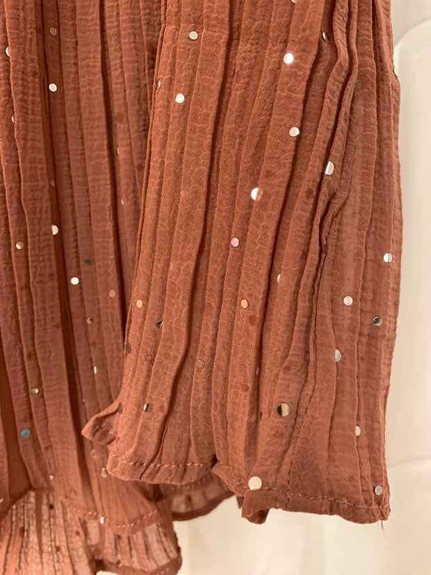 Sequin Dots Cami (Mauve)