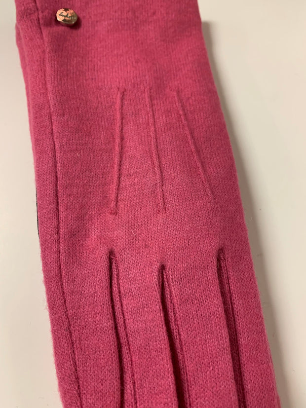 Water Repellent Classic Touch Glove (Pink)