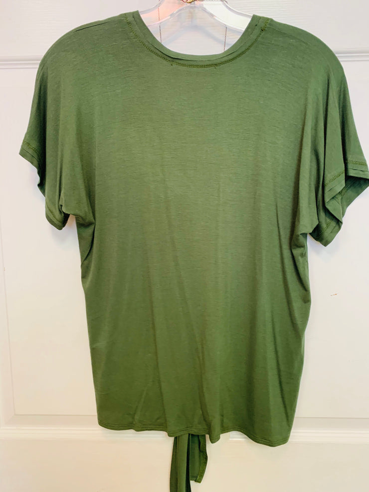 Tee With Front Tie (Cargo)