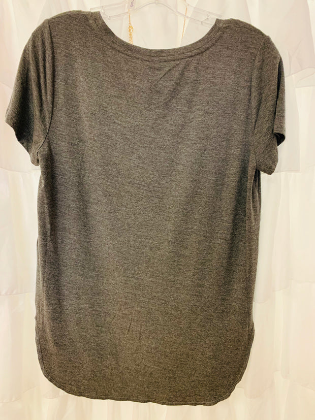 Alabama Scoop Neck Tee (Dark Grey)