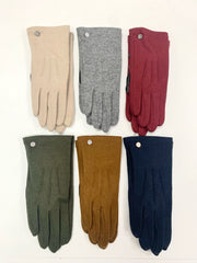 Water Repellent Classic Touch Glove (Burgundy)