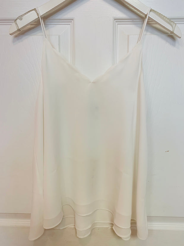 Scallop Cami (White)