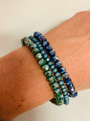 Sparkle Set of 3 (Slate Green/Navy)