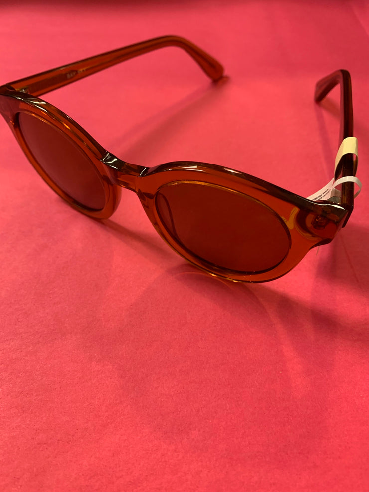 Acetate Sunglasses Round Frame
