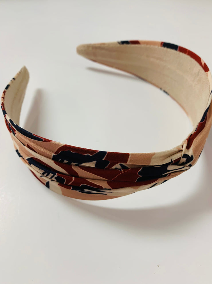 Printed Knotted Headband