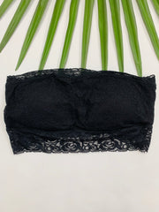 Lace Bandeau (Black)