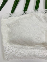 Lace Bandeau (White)