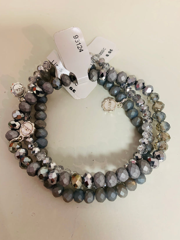 Sparkle Set of 3 (Silver/Grey)