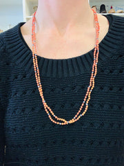 Double Strand Cord Necklace