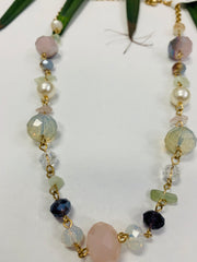 Pastel Beaded Necklace