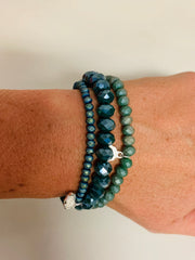 Sparkle Set of 3 (Slate Green)