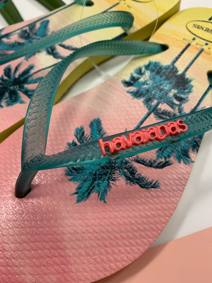 Slim Paisage Sandal (Palm Tree)