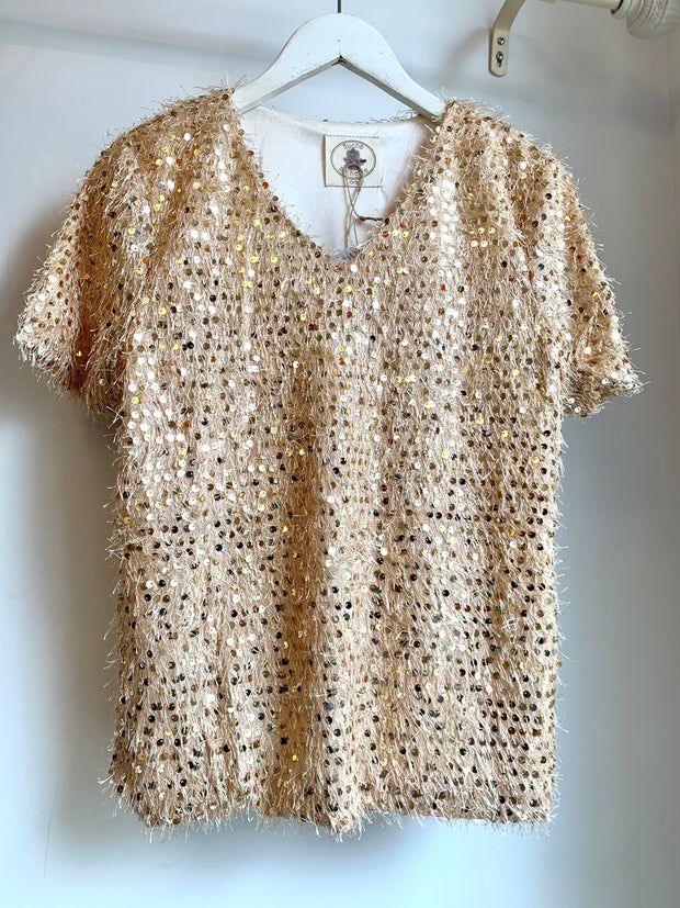 Sparkle Blouse (Gold)