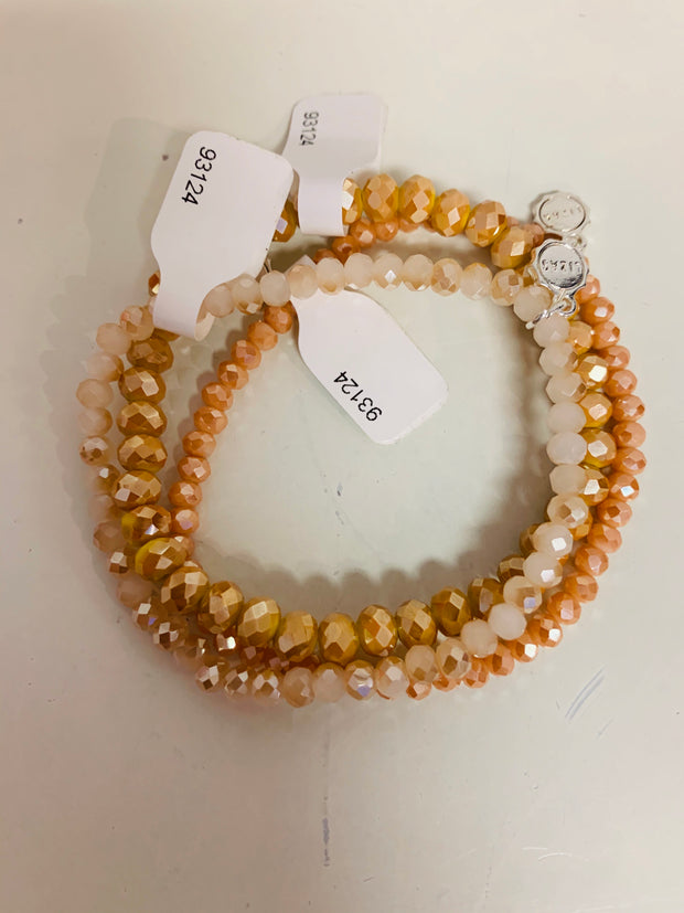 Sparkle Set of 3 (Mustard/Peach)