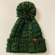 Twisted Pom Beanie (Army)