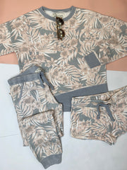 Tropical Printed Shorts