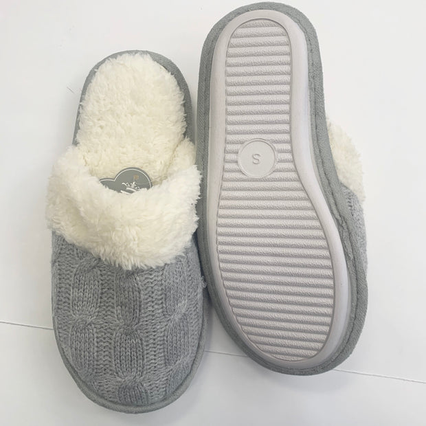 Cable Knit Slipper