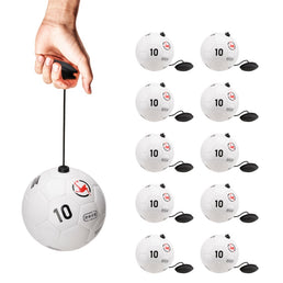10 X Ballons Entrainement au football - JugglePro