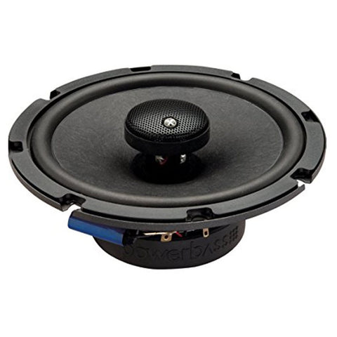 "PowerBass 2XL-653T 6.5"" Thin Full-Range Coaxial Speakers (pair)"