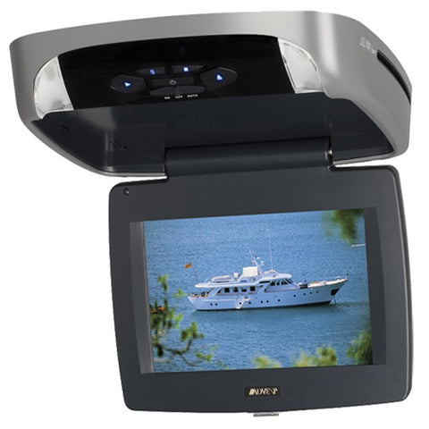 "Advent ADVDLX9A 9"" Flipdown HD Digital Monitor w / Built-In DVD Player"