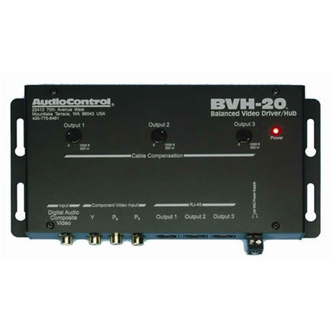 AudioControl BVH-20 Component Video / Digital Audio Driver Hub