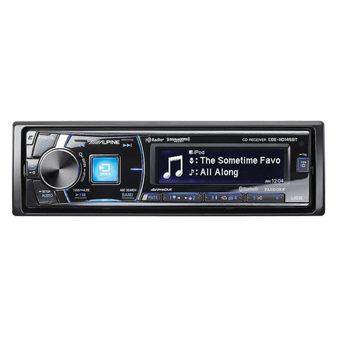 Alpine CDE-HD149BT CD Receiver w / Advanced Bluetooth