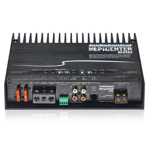 AudioControl EPICENTER600 Bass Processor with Class D 600 Watt Amp