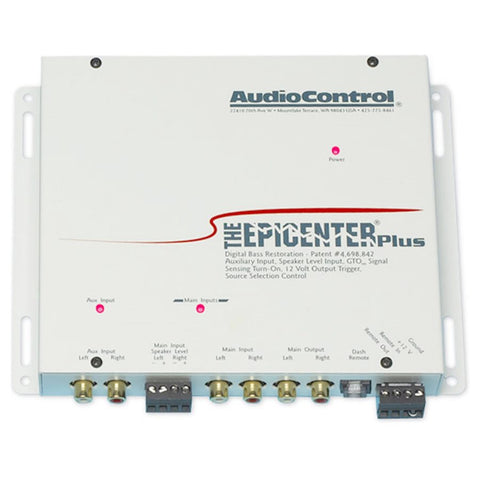 AudioControl EPICENTERPLUS/W Epicenter Plus Bass Controller (white)