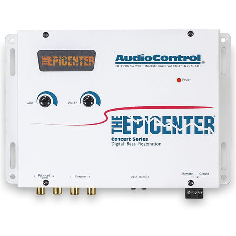 AudioControl EPICENTER/W Bass Restoration Processor (white)