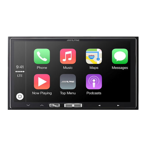 "Alpine ILX-107 7"" Mechless InDash Receiver w / Apple Car Play"