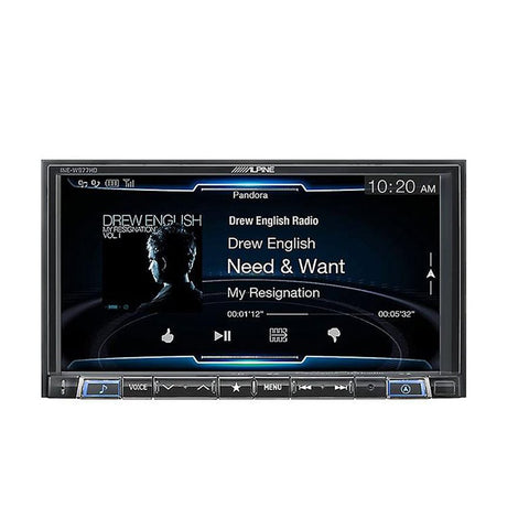 "Alpine INE-W977HD 7"" Mechless Navigation Receiver"